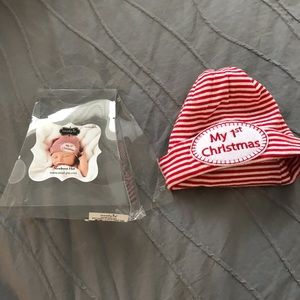 eeebfd2236572 Mud Pie Accessories - NWOT mudpie newborn my first Christmas hat